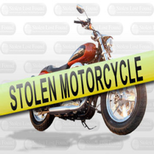 Motorcycle Stolen from Backyard