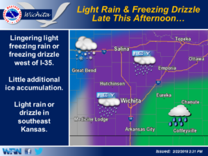 Light Rain and Freezing Drizzle