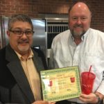 Jim DuBois is Presented With His BANK VI Hero of the Week Award