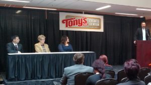 Bicentennial Center becomes the Tony's Pizza Events Center