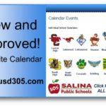 USD 305 introduces improved website calendar