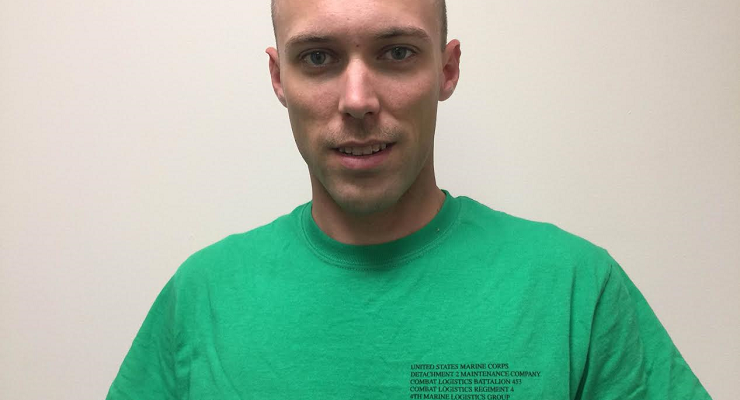 Sgt. Brandon Uhrich is your BANK VI Hero of the Week