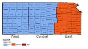 KDHE: Risk for West Nile Virus down across Kansas