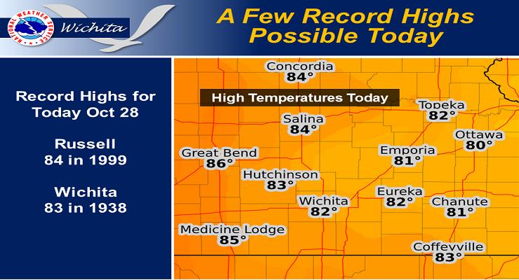 Record Setting Warm Weather Ahead