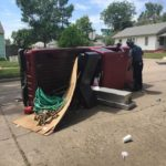 No Serious Injuries in Two Vehicle Accident