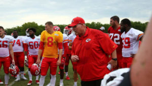 Chiefs Coach Andy Reid Shares Playtime Expectations for Thursday Night