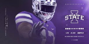 K-State vs. Iowa State to Kick at 2:30 p.m., on ESPN2