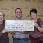 Lucky Salina trio claims $10,000 raffle prize