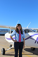 Reaching new heights: Kansas State Polytechnic Flight Team selects its first-ever female captain