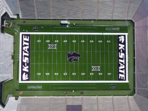 Kansas Turf completes field turf replacement at Bill Snyder Family Stadium