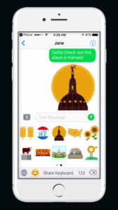 Kansas Emojis Capturing Themes From The State Launching For iPhone Users Today