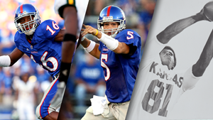 Harris Jr., Reesing and Brown to be added to Kansas football Ring of Honor in 2018