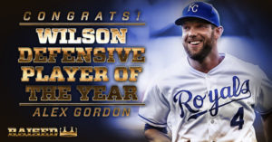 Alex Gordon is Wilson defensive player of the year