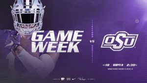 K-State Faces Road Test at No. 10 Oklahoma State
