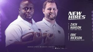 K-State Adds Hanson, Hickson to Staff