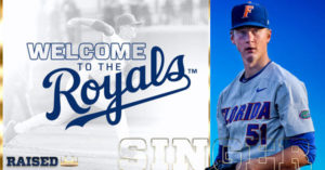 ROYALS SIGN FIRST ROUND SELECTION  BRADY SINGER