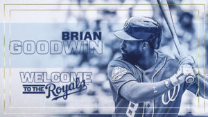 ROYALS ACQUIRE BRIAN GOODWIN FROM WASHINGTON