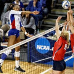 Jayhawks, Burse slam Samford in NCAA First Round, 3-0