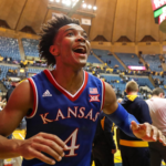 Jayhawks storm back to down West Virginia, 71-66