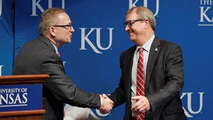 KU welcomes Jeff Long as director of athletics