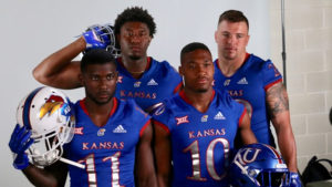 KU at Big 12 Football Media Days