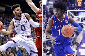 Kansas duo named to Wooden Award Top 25