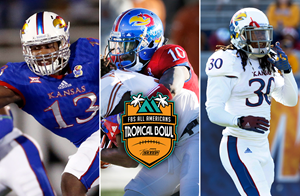 Trio of Jayhawks set to play in 2017 Tropical Bowl
