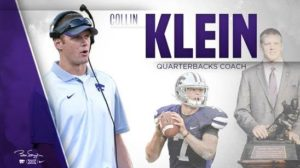Wildcat Great Collin Klein Hired as New Quarterbacks Coach at K-State