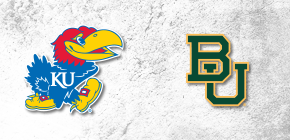 No. 3 Kansas and No. 2 Baylor meet Wednesday with Big 12 lead on the line