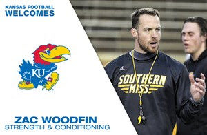 Beaty hires Zac Woodfin for director of football strength and conditioning