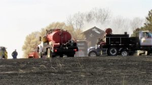 Local fire districts request burn ban after eight fires Saturday