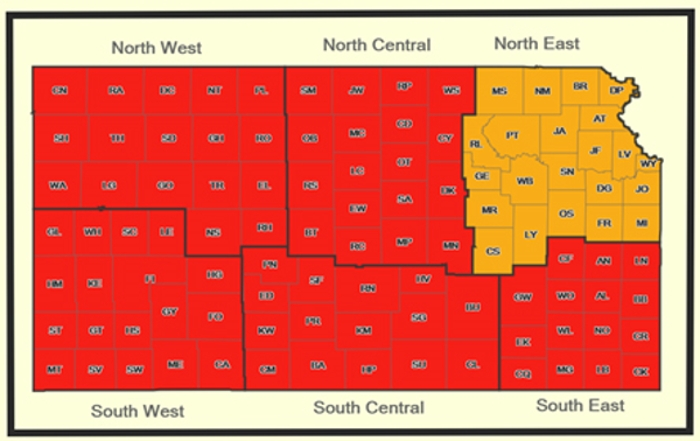 In August the KDHE reported most of Kansas now at high risk for West Nile Virus