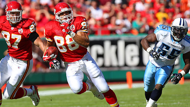 75dc09bb4 FORMER CHIEFS TIGHT END TONY GONZALEZ RETIRES - The Salina Post
