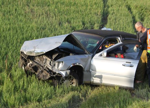 3 Hospitalized And Sheriff S Vehicle Hit In I 70 Accidents