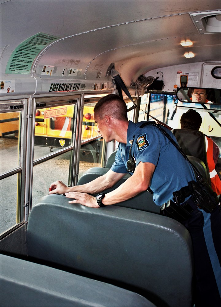 Troopers Begin Annual School Bus Inspection The Salina Post