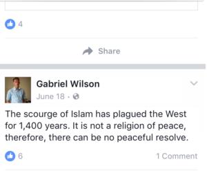 A Wilson post on Islam.