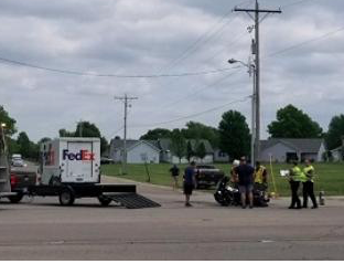 Sheriff: Kan  man dies from injuries in motorcycle, FedEx