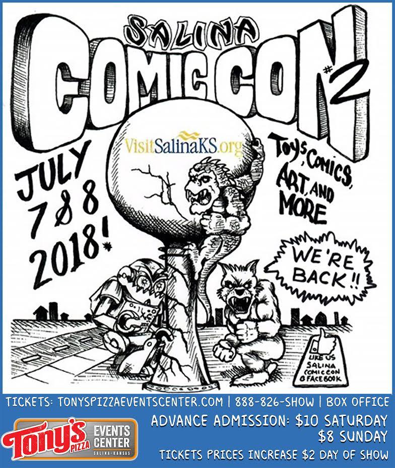 Salina Schedules Second Comic Con